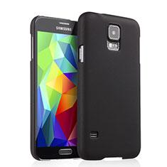 Cover Plastica Rigida Opaca per Samsung Galaxy S5 Duos Plus Nero
