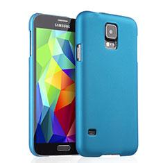 Cover Plastica Rigida Opaca per Samsung Galaxy S5 G900F G903F Cielo Blu
