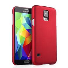 Cover Plastica Rigida Opaca per Samsung Galaxy S5 G900F G903F Rosso