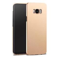 Cover Plastica Rigida Opaca per Samsung Galaxy S8 Plus Oro