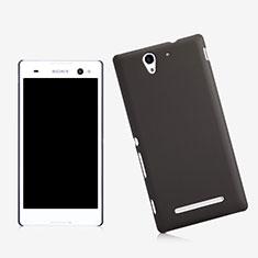 Cover Plastica Rigida Opaca per Sony Xperia C3 Nero