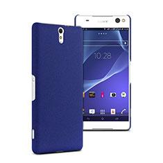 Cover Plastica Rigida Opaca per Sony Xperia C5 Ultra Blu