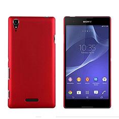 Cover Plastica Rigida Opaca per Sony Xperia T3 Rosso