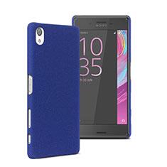Cover Plastica Rigida Opaca per Sony Xperia X Blu