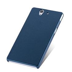 Cover Plastica Rigida Opaca per Sony Xperia Z L36h Blu
