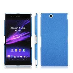 Cover Plastica Rigida Opaca per Sony Xperia Z Ultra XL39h Blu