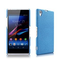 Cover Plastica Rigida Opaca per Sony Xperia Z1 L39h Blu