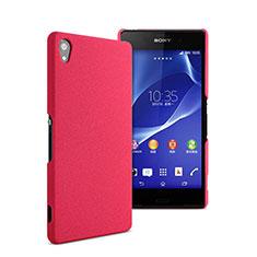 Cover Plastica Rigida Opaca per Sony Xperia Z2 Rosa Caldo