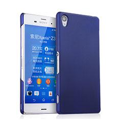 Cover Plastica Rigida Opaca per Sony Xperia Z3 Blu