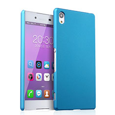 Cover Plastica Rigida Opaca per Sony Xperia Z3+ Plus Cielo Blu