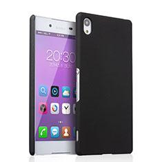 Cover Plastica Rigida Opaca per Sony Xperia Z3+ Plus Nero