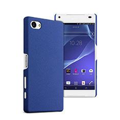 Cover Plastica Rigida Opaca per Sony Xperia Z5 Compact Blu