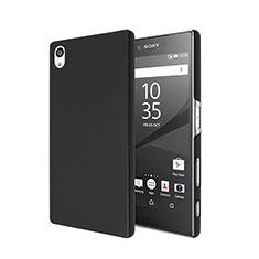Cover Plastica Rigida Opaca per Sony Xperia Z5 Nero