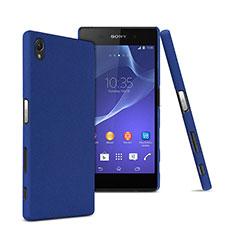Cover Plastica Rigida Opaca per Sony Xperia Z5 Premium Blu