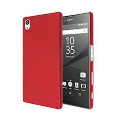 Cover Plastica Rigida Opaca per Sony Xperia Z5 Rosso
