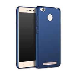 Cover Plastica Rigida Opaca per Xiaomi Redmi 3 Pro Blu