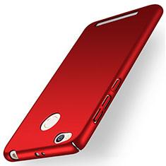 Cover Plastica Rigida Opaca per Xiaomi Redmi 3 Pro Rosso