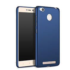 Cover Plastica Rigida Opaca per Xiaomi Redmi 3S Prime Blu