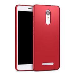 Cover Plastica Rigida Opaca per Xiaomi Redmi Note 3 MediaTek Rosso