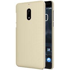 Cover Plastica Rigida Opaca R01 per Nokia 6 Oro