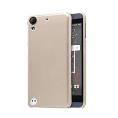Cover Plastica Rigida Perforato per HTC Desire 630 Oro