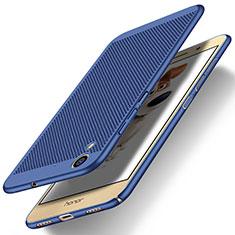 Cover Plastica Rigida Perforato per Huawei Y6 II 5.5 Blu