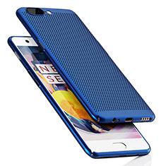 Cover Plastica Rigida Perforato per OnePlus 5 Blu
