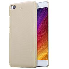 Cover Plastica Rigida Perforato per Xiaomi Mi 5S Oro