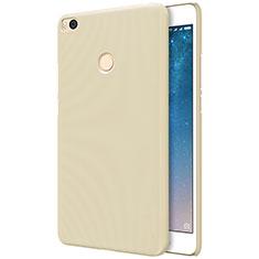 Cover Plastica Rigida Perforato per Xiaomi Mi Max 2 Oro