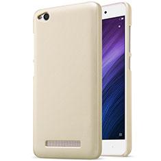 Cover Plastica Rigida Perforato per Xiaomi Redmi 4A Oro