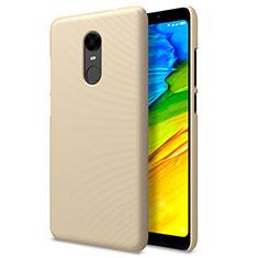 Cover Plastica Rigida Perforato per Xiaomi Redmi 5 Plus Oro