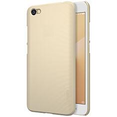 Cover Plastica Rigida Perforato per Xiaomi Redmi Note 5A Standard Edition Oro