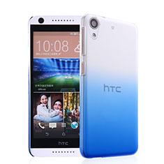 Cover Plastica Trasparente Rigida Sfumato per HTC Desire 626 Blu