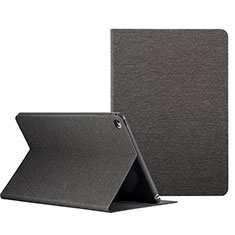 Cover Portafoglio In Pelle con Supporto L01 per Apple iPad Mini 4 Nero