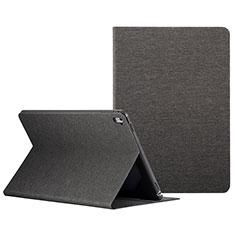 Cover Portafoglio In Pelle con Supporto L01 per Apple iPad Pro 9.7 Nero
