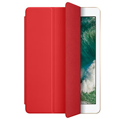 Cover Portafoglio In Pelle con Supporto L01 per Apple New iPad 9.7 (2017) Rosso
