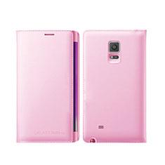Cover Portafoglio In Pelle con Supporto L01 per Samsung Galaxy Note Edge SM-N915F Rosa