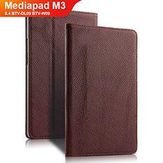 Cover Portafoglio In Pelle con Supporto L02 per Huawei Mediapad M3 8.4 BTV-DL09 BTV-W09 Marrone