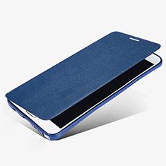 Cover Portafoglio In Pelle con Supporto L02 per Samsung Galaxy Note 5 N9200 N920 N920F Blu