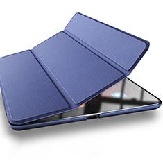 Cover Portafoglio In Pelle con Supporto L03 per Xiaomi Mi Pad 2 Blu
