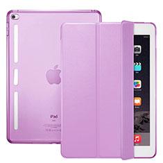 Cover Portafoglio In Pelle con Supporto L06 per Apple iPad Mini 4 Rosa