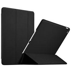Cover Portafoglio In Pelle con Supporto L08 per Apple iPad Mini 4 Nero