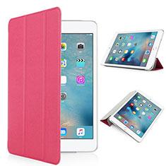 Cover Portafoglio In Pelle con Supporto Opaca per Apple iPad Pro 9.7 Rosso