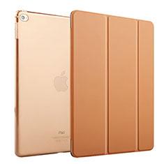Cover Portafoglio In Pelle con Supporto per Apple iPad Mini 4 Marrone