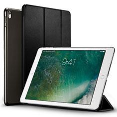 Cover Portafoglio In Pelle con Supporto per Apple iPad Pro 12.9 (2017) Nero