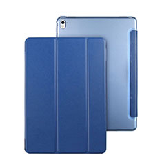 Cover Portafoglio In Pelle con Supporto per Apple iPad Pro 9.7 Blu