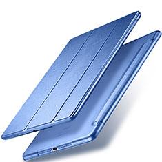Cover Portafoglio In Pelle con Supporto per Apple New iPad 9.7 (2017) Blu