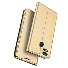 Cover Portafoglio In Pelle con Supporto per Asus Zenfone 3 Zoom Oro