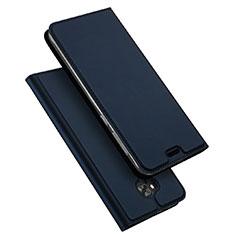 Cover Portafoglio In Pelle con Supporto per Asus Zenfone 4 Selfie ZD553KL Blu