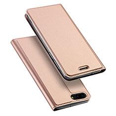 Cover Portafoglio In Pelle con Supporto per Asus Zenfone 4 ZE554KL Oro Rosa